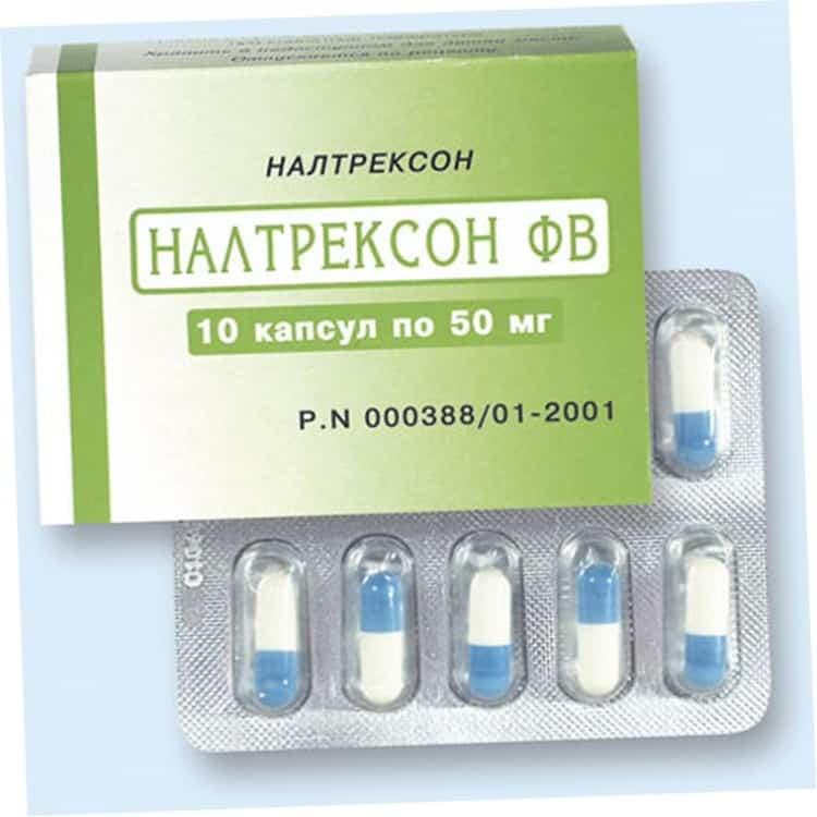 Таблетки Налтрексон